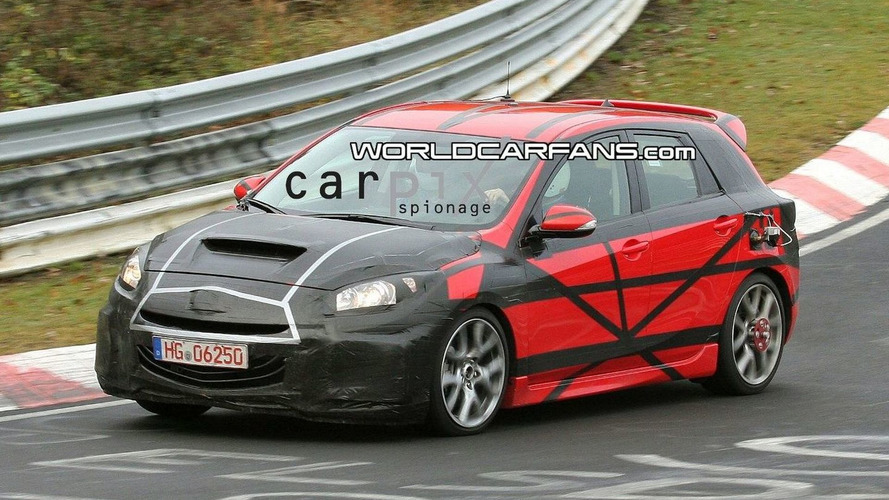 All-New Mazdaspeed3 aka Mazda3 MPS Hatchback Spotted for First Time on Nürburgring