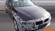 BMW 3-Series facelift spy photo / auto.ifeng.com