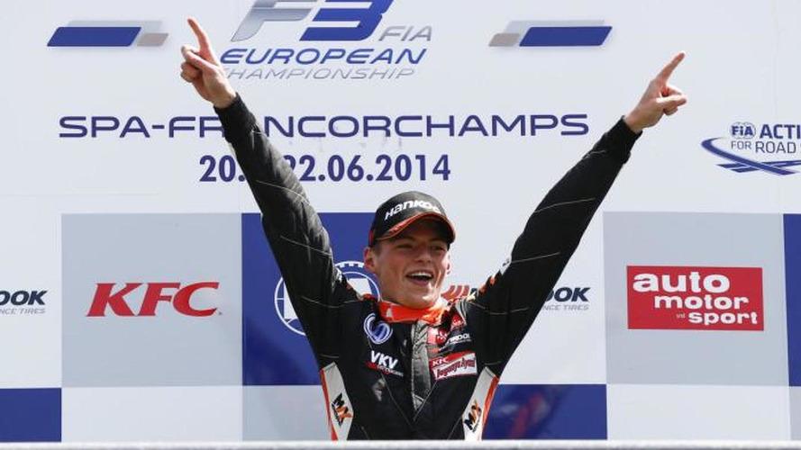 'Kid' Verstappen the big talking point at Spa