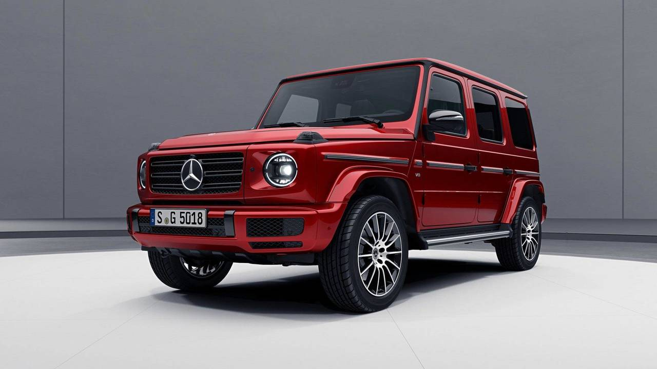 Mercedes-Benz Clase G, Night Package