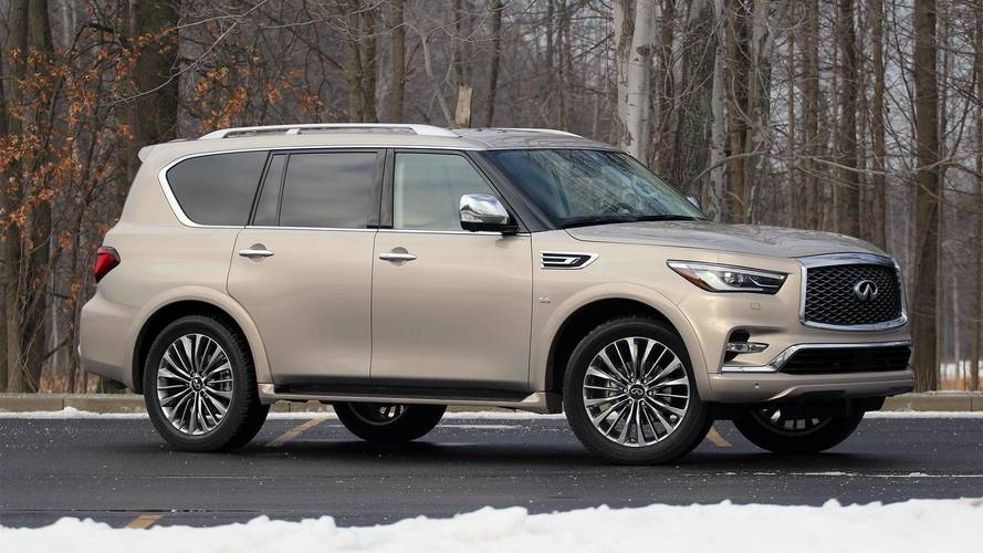 2018 Infiniti QX80 4WD Review: Going Mainstream
