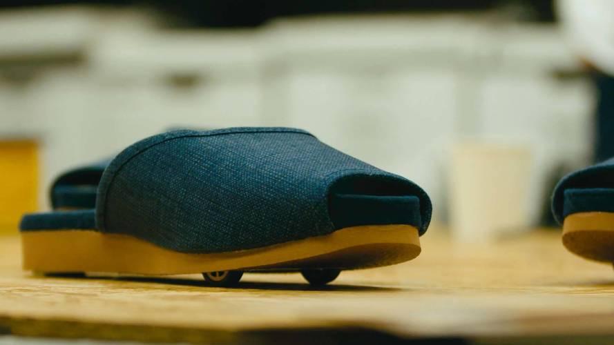 Nissan develops self-driving slippers for Japanese hotel