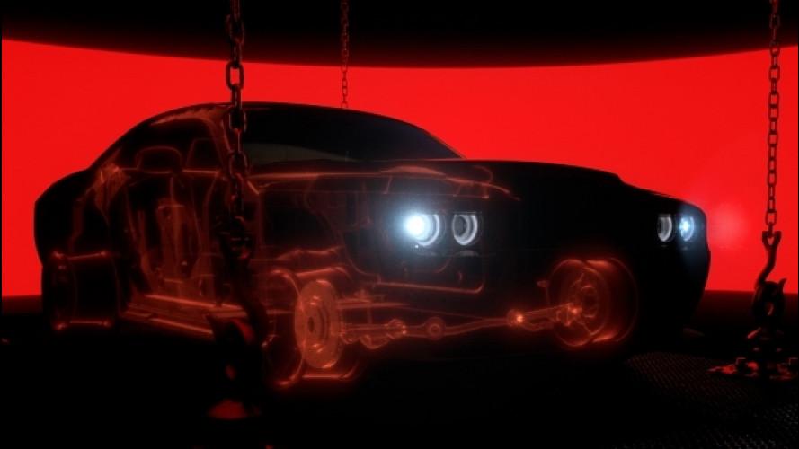 Dodge Challenger SRT Demon, il teaser [VIDEO]