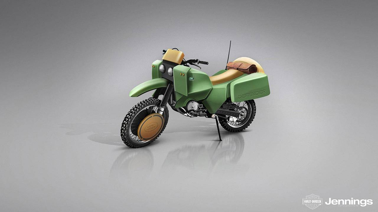Land Rover Defender Dirt Bike