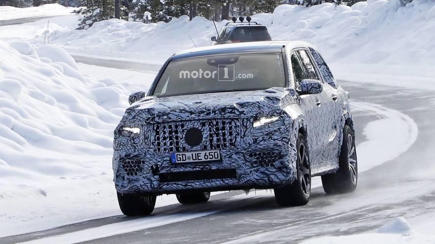Le futur Mercedes-AMG GLS 63 est sur le chemin