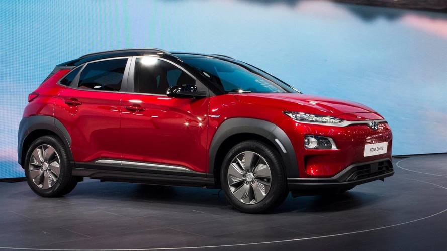 Hyundai Kona Electric Live From Geneva Motor Show