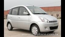 Effa M100 - Carro mais barato do Brasil muda de fábrica e ganha novo visual
