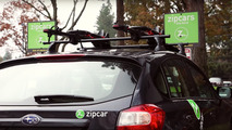 Zipcar adds Yakima roof racks for bikes, skis, and snowboards
