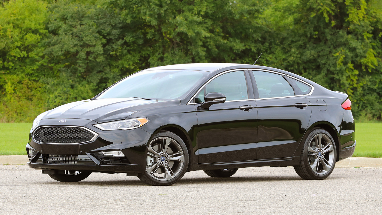 5. Ford Fusion Sport
