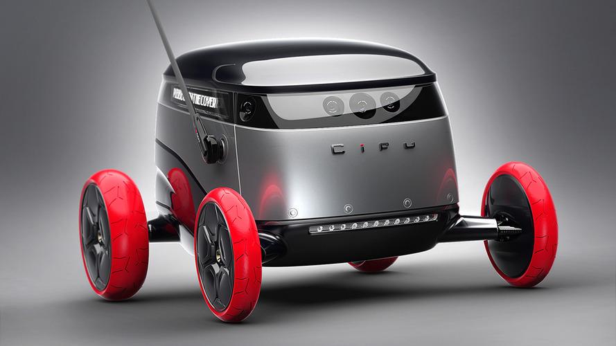 Cifu autonomous delivery drone concept promises packages on wheels