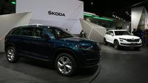 2017 Skoda Kodiaq Paris Motor Show
