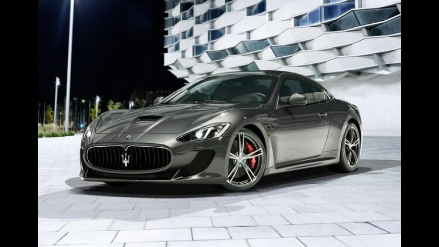 Maserati GranTurismo MC Stradale ganha bancos traseiros e mais potência