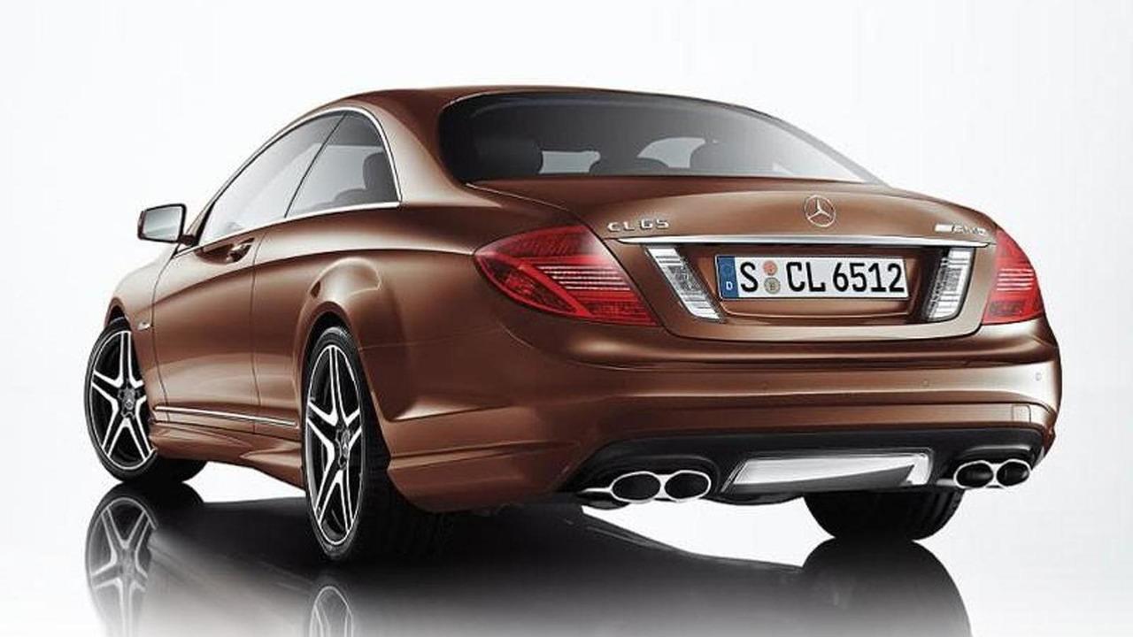 2011 Mercedes CL65 AMG facelift leaked image