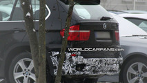 BMW X5 Facelift E70 first spy photos