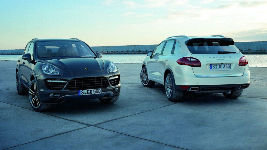 2011 Porsche Cayenne Official Photos and Details Released [Video]