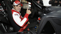 Ferrari 599XX - Massa behind the wheel in Valencia [Video]