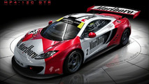 McLaren MP4-12C with Marlboro livery artist rendering - 920