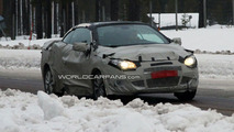 Renault Megane CC Spied Winter Testing, 10.12.2009