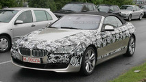 BMW 6 Series Convertible losing more disguise
