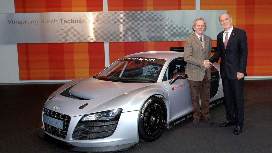 First Audi R8 LMS Delivered