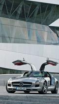 Mercedes-Benz SLS AMG Gullwing at the Mercedes-Benz Museum