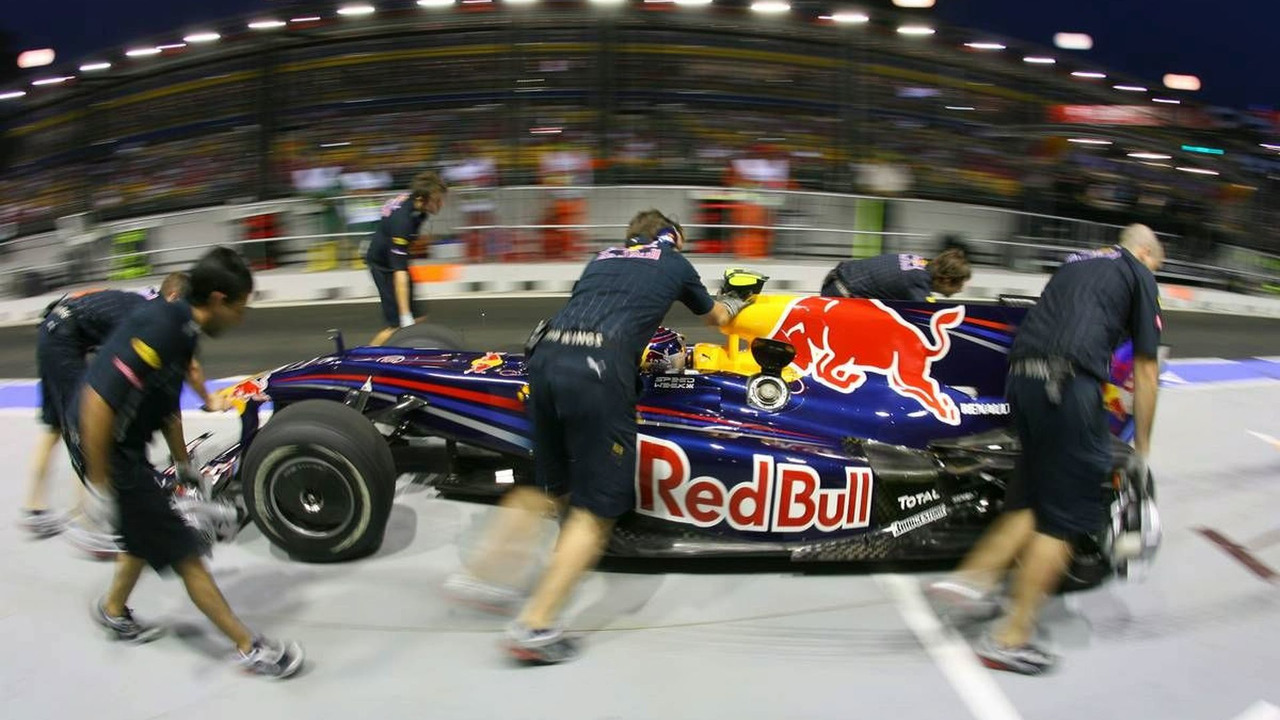 Sebastian Vettel (GER), Red Bull Racing, Singapore Grand Prix, 25.09.2009