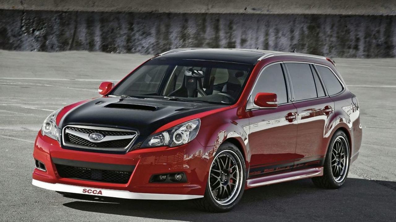Subaru Legacy GTk wagon concept for SEMA 2009