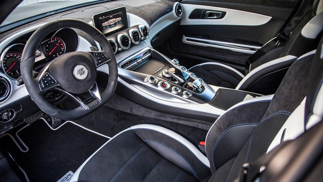 Mercedes S-Class Coupe iç kabin Prior Design