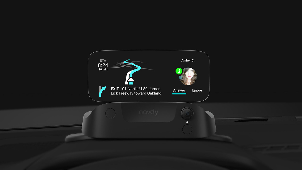 Navdy head-up display