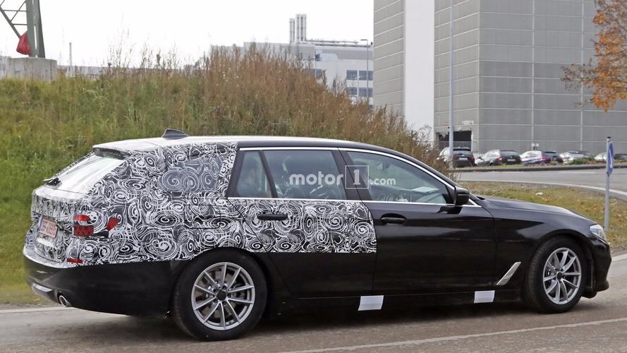 2017 BMW 5 Serisi Touring kamuflajlı görüntülendi