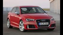 Audi RS3 de 372 cv chegará ao Brasil no segundo semestre