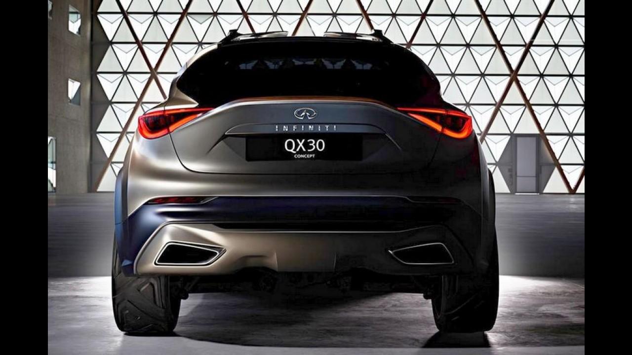Infiniti QX30 Concept aparece por inteiro pela primeira vez