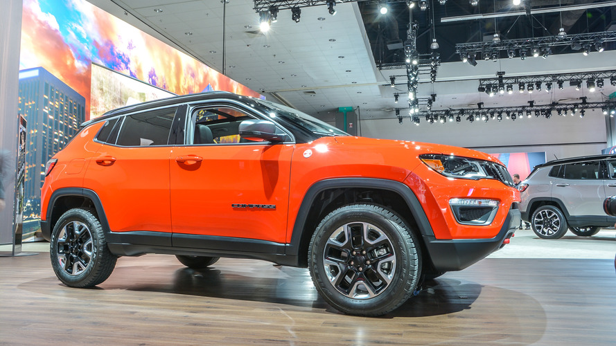 2017 Jeep Compass makes North American debut with 180 hp