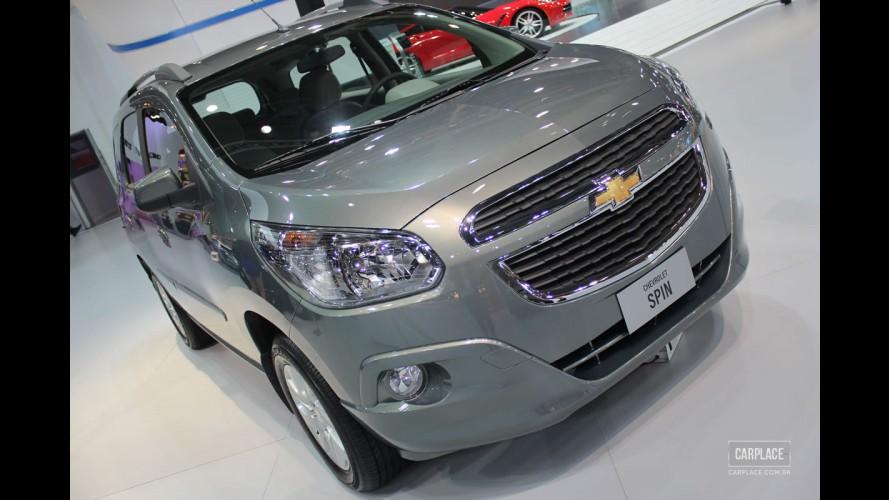 Exclusivo: Chevrolet Spin ganha central Mylink na linha 2014