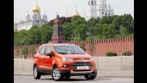 Ford começa a produzir EcoSport na Rússia, mesmo sob condições difíceis