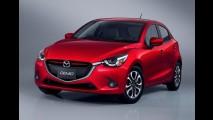 Nova geração do Mazda2 é revelada por completo - veja fotos