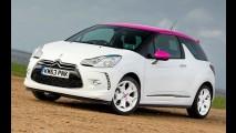 Só para mulheres: Citroën DS3 ganha edição Pink na Europa
