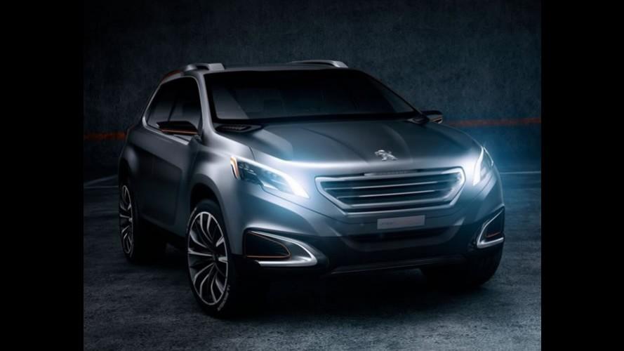 Salão de Pequim: Peugeot Urban Crossover Concept desenhado no Brasil é revelado
