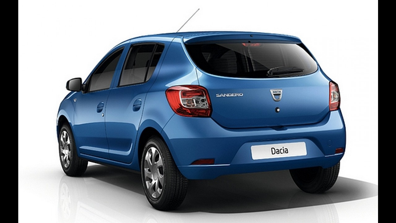 Dacia divulga preços do novo Sandero na Espanha; versão mais barata custa o equivalente a R$ 18,7 mil