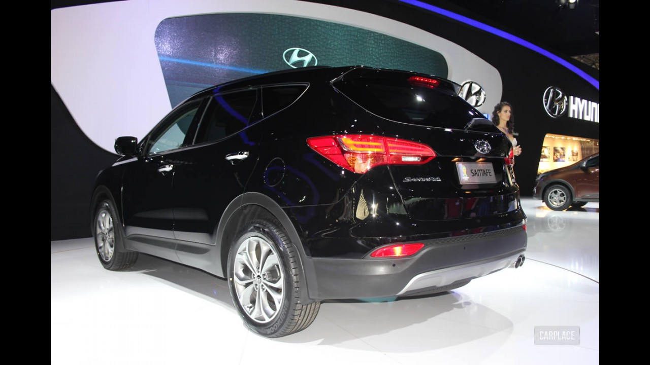 Exclusivo: novo Hyundai Santa Fe custará a partir de R$ 135 mil