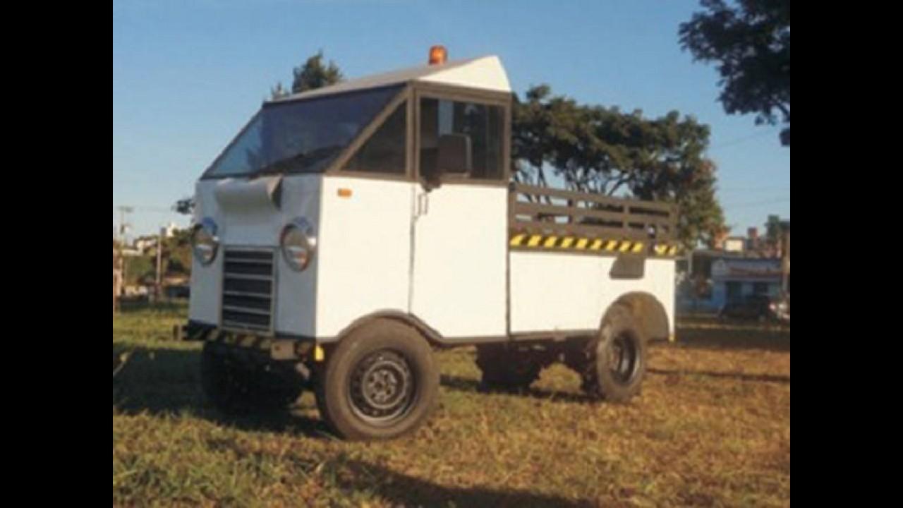 Mini-carro multiuso é desenvolvido por empresário brasileiro