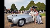 Mercedes 300 SL 1955 é o clássico eleito pelo público no Concours of Elegance