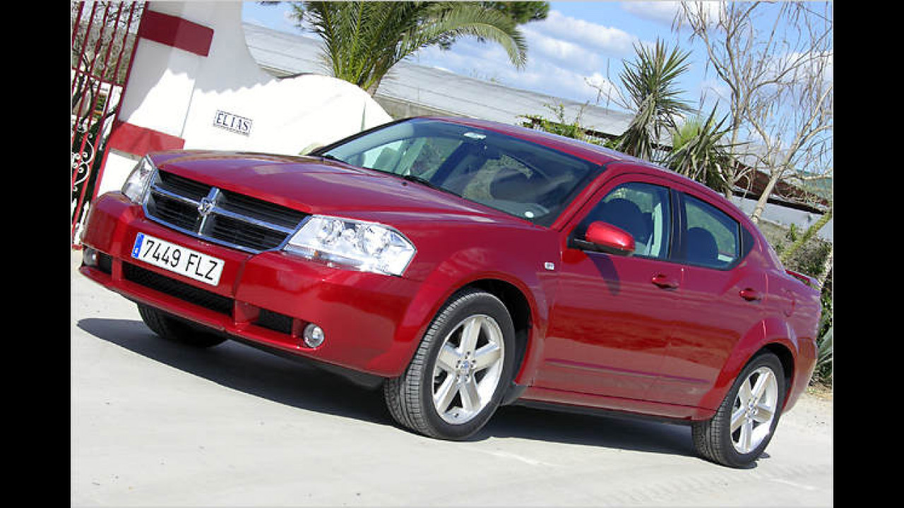 Dodge Avenger im Test