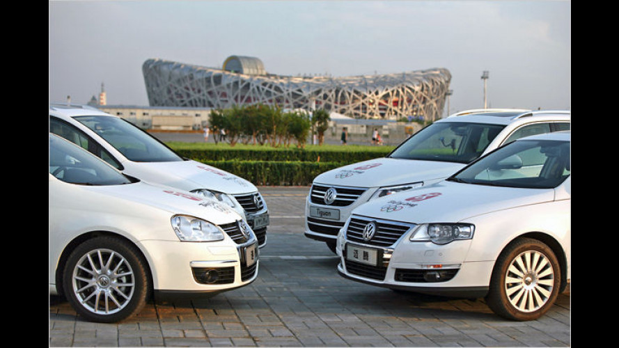 5.000 VWs für Olympia: Volkswagen übergibt ,Green Fleet