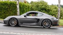 2018 Porsche 718 Cayman GTS spy photo