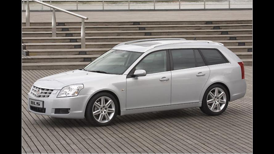 Der erste Kombi-Cadillac: BLS Wagon debütiert auf der IAA