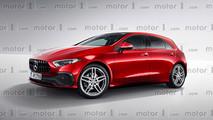 Mercedes Clase A 2018 render