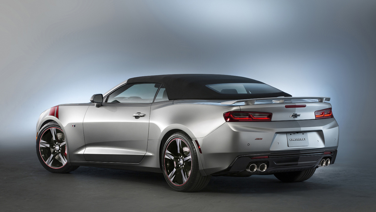 Chevrolet Camaro SS Red Accent Package concept