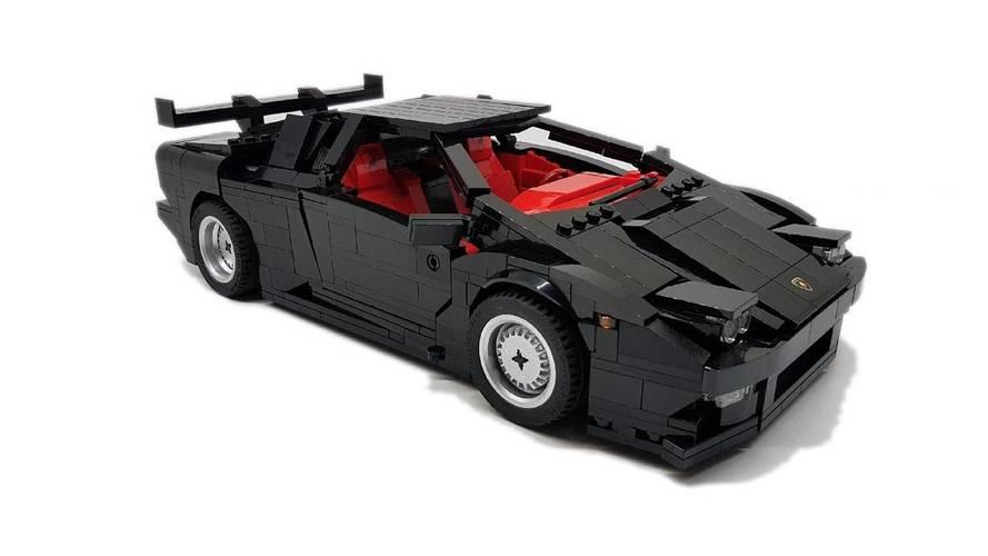 Lamborghini Diablo Lego Build Needs Your Help To Happen