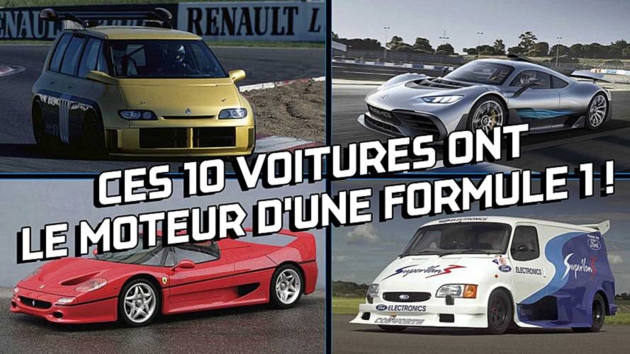 DIAPORAMA - Ces 10 voitures ont le moteur d'une Formule 1 !